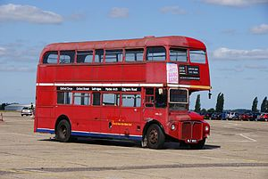 Routemaster RML893 (WLT 893), 2010 North Weald bus rally.jpg