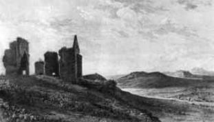 Rovine del castello Fiorentino di Torremaggiore (XVIII secolo)