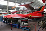 Royal Military Museum, Brussels - Hawker Hunter F.4 IF70 (11449390013).jpg