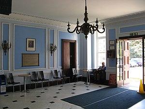 Royal United Hospital - The original foyer showing 1930 building foundation stone