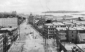 Rue de la Commune - Image: Rue de la Commune Montreal 1910