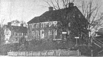 Rufus Putnam House - 1903 photograph of the house