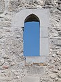 Ruins of Holy Cross Chapel, 13th cent. in Bia Reformed Cemetery. - Hungary.jpg