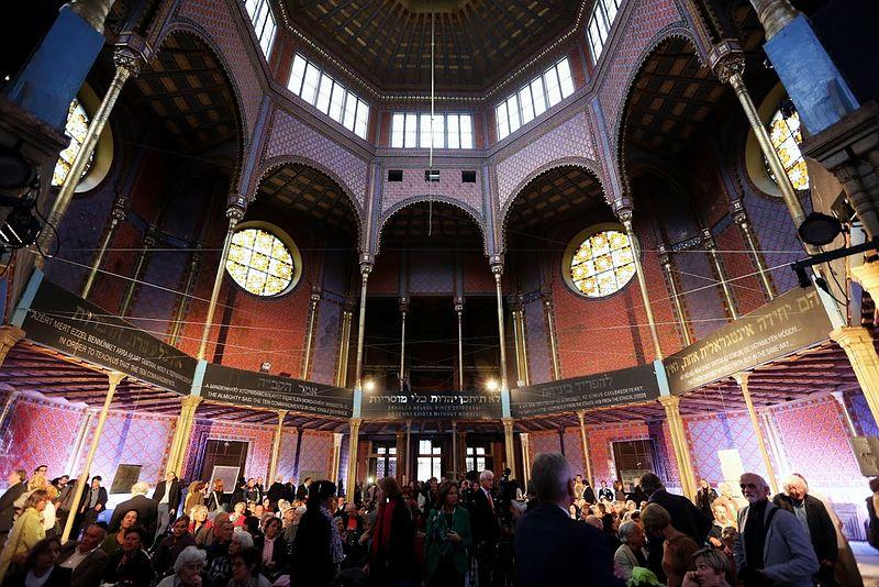 Synagogue Rumbach à Budapest, l'une des plus spectaculaire de Budapest - Photo de Thaler Tamas