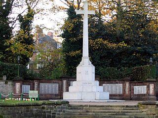 Runcorn War Memorial war memorial in Runcorn, Cheshire, England