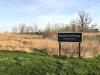 College of DuPage - Sign for the Russel R. Kirk Prairie