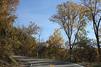 Rustic Road (Wisconsin) - Image: Rustic Road R26Fall Scenery Wisconsin