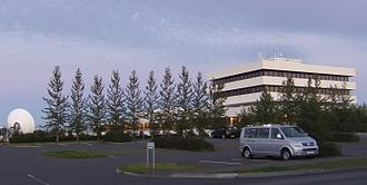RÚV - RÚV headquarters in Reykjavík.