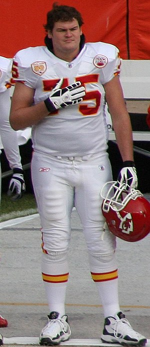 Ryan O'Callaghan - O'Callaghan with the Chiefs in 2010