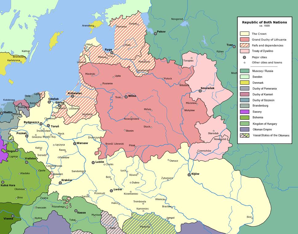 Rzeczpospolita 1600