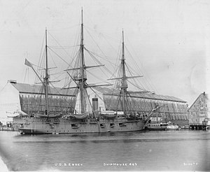 USS Essex (1874) - Image: S A war Essex