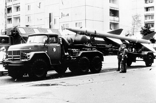 SA-2 Guideline towed by a ZIL-131 truck