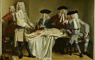 Anatomische les van Dr. Willem Röell