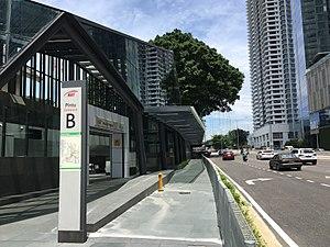 Muzium Negara MRT station - Image: SBK Line Muzium Negara Entrance B 5
