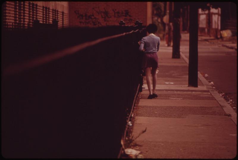 File:SCHOOL GIRL ON STREET IN NORTH PHILADELPHIA - NARA - 552763.tif