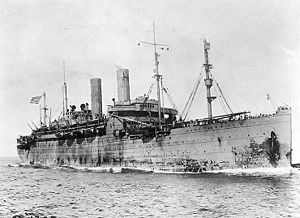 USS George Washington in United States Navy service during World War I