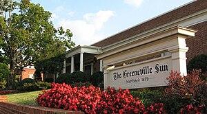 The Greeneville Sun - The Greeneville Sun is located at 121 W. Summer Street, Greeneville, Tenn.