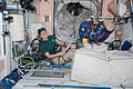 STS-130 Kathryn Hire works in the Unity node.jpg