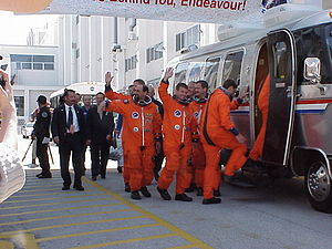 STS-100 - Image: STS100Crew By Phil Konstantin