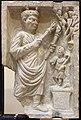 Sacerdote che sacrifica ad attys (archigallo), III sec, dalla necropoli di porta all'isola sacra.JPG