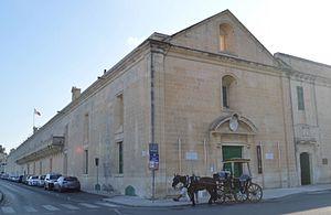 Mediterranean Conference Centre - Image: Sacra Infermeria in 2016