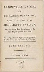 Marquis de Sade: La Nouvelle Justine