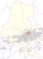 Saggen -- Statistischer Stadtteil in Innsbruck -- Lagekarte.png