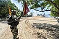 Sailor directs a landing craft air cushion onto the beach during a theater security cooperation exchange with the Sri Lankan military. (30488251303).jpg