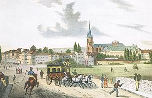 Saint-Denis, Seine-Saint-Denis - Saint-Denis in 1830.