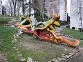 Saint-Lô - Dragon de la Dollée.JPG