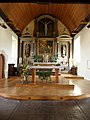 Saint-Onen-la-Chapelle (35) Église Saint-Onen Intérieur Maître-autel 01.jpg