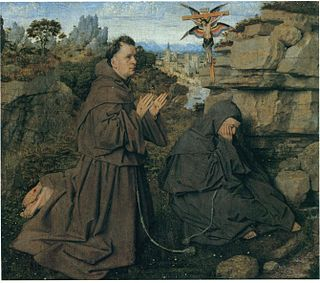 <i>Saint Francis Receiving the Stigmata</i> (van Eyck) Two unsigned paintings completed around 1428–1432 attributed to Jan van Eyck