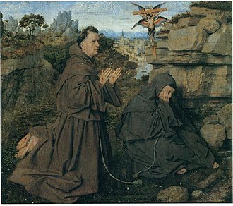 Saint Francis Receiving the Stigmata (van Eyck) - Image: Saint Francis of Assisi Receiving the Stigmata Turin