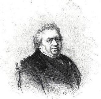 X. B. Saintine - Saintine, engraving by Bocourt