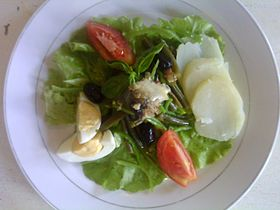 Image illustrative de l'article Salade niçoise