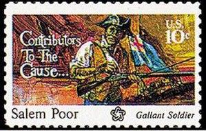 Salem Poor - 1975 Postage Stamp