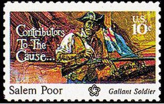 Salem Poor - 1975 Postage Stamp