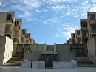 Salk Institute for Biological Studies - View from front