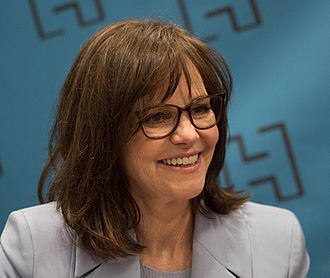 Sally Field - Field at BookExpo America in June, 2018