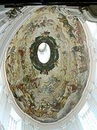 Salzburg Dreifaltigkeitskirche Kuppel