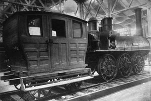 Samson (locomotive) - Earlier storage or display. 1920-1939