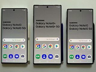 Samsung Galaxy Note 10 2019 Android phablet by Samsung Electronics