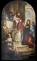 San Giacomo dall'Orio (Venice) - Presentazione della Vergine al tempio (1771) di Francesco Zugno.jpg