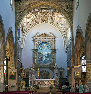 San Giovanni in Bragora - Image: San Giovanni in Bragora Interno