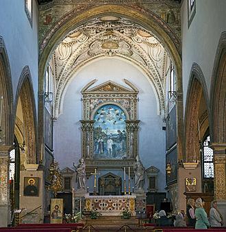 San Giovanni in Bragora - Image: San Giovanni in Bragora Interno