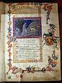 San gimignano, commedia di dante, xiv secolo, canto I (incontro con le 3 fiere), 1350 ca., pluteo 40.3 c1r, 02.JPG