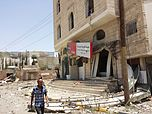 Sana'a after airstrike 20-4-2015 - Widespread destruction- 19.jpg