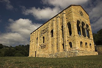 Oviedo - Santa María del Naranco (Pre-Romanesque shrine)