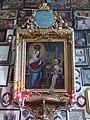 Santuario della Comparsa, interno - Quadro Madonna di Caravaggio.jpg