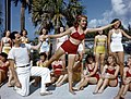 Sarasota Sun-Debs training session at Lido Beach, Florida (9507259691).jpg